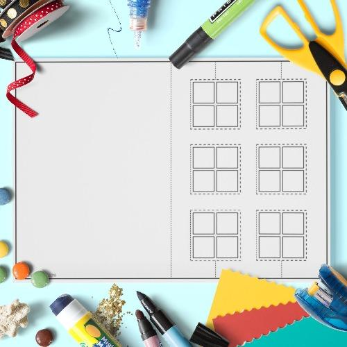 ESL English Weather Window Craft Activity Worksheet
